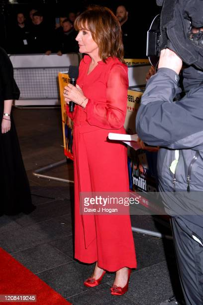 Lorraine Kelly attends the Military Wives UK Premiere at Cineworld Leicester Square on February 24 2020 in London England