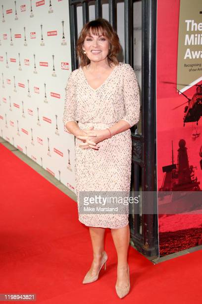 Lorraine Kelly attends The Sun Military Awards 2020 at Banqueting House on February 6 2020 in London England