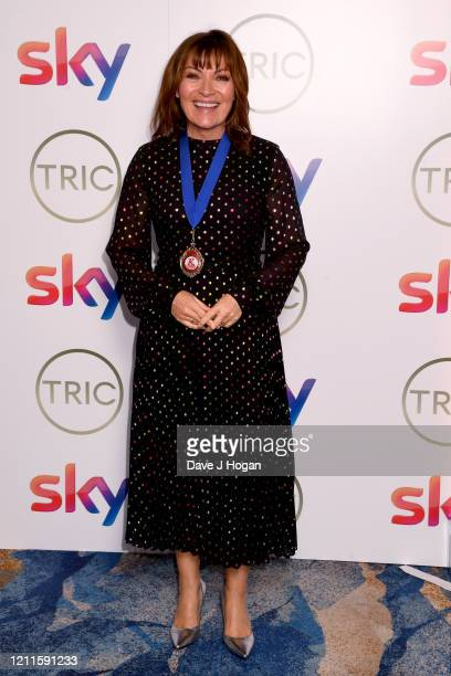 Lorraine Kelly attends the TRIC Awards 2020 at The Grosvenor House Hotel on March 10 2020 in London England