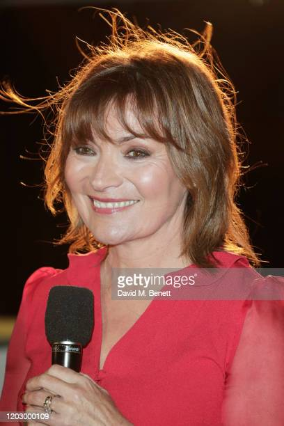 Lorraine Kelly attends the UK Premiere of Military Wives at at The Cineworld Leicester Square on February 24 2020 in London England