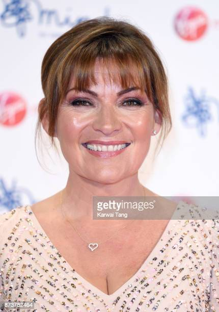 Lorraine Kelly attends the Virgin Money Giving Mind Media Awards at Odeon Leicester Square on November 13 2017 in London England