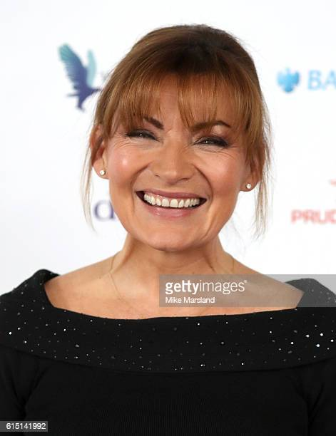 Lorraine Kelly attends the Women of the Year Awards 2016 at InterContinental Park Lane Hotel on October 17 2016 in London England