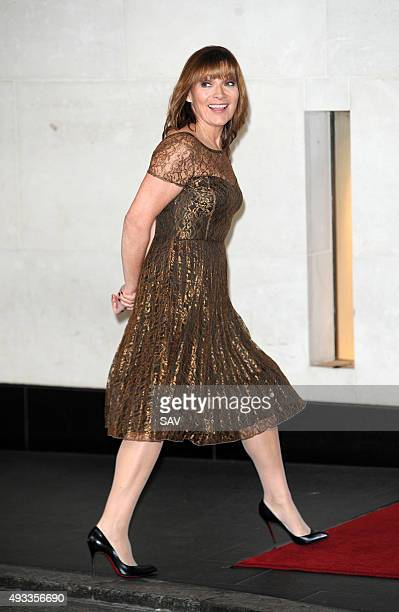 Lorraine Kelly attends The Women Of The Year Awards at The Intercontinental Hotel on Park Lane on October 19 2015 in London England