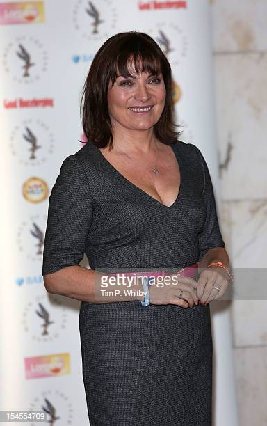 Lorraine Kelly attends the Women of the Year lunch at InterContinental Park Lane Hotel on October 22 2012 in London England