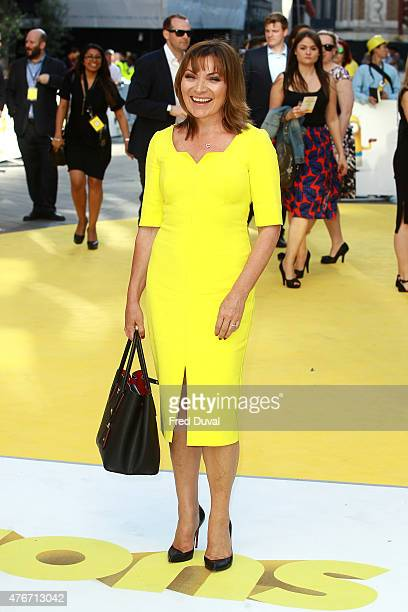Lorraine Kelly attends the World Premiere of 'Minions' at Odeon Leicester Square on June 11 2015 in London England