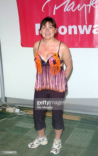 Lorraine Kelly during The Playtex Moonwalk at Hyde Park in London Great Britain