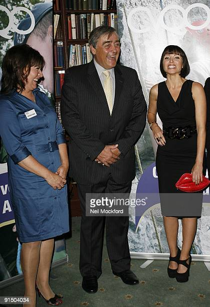 Lorraine Kelly, Gerald Cavendish Grosvenor, Duke of Westminster and Danni Minogue attend the launch photocall for the CVQO Appeal on October 6, 2009...