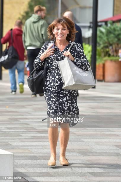 Lorraine Kelly seen at the ITV Studios September 10 2019 in London England