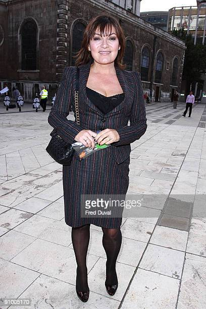 Lorraine Kelly sighting on September 21 2009 in London England