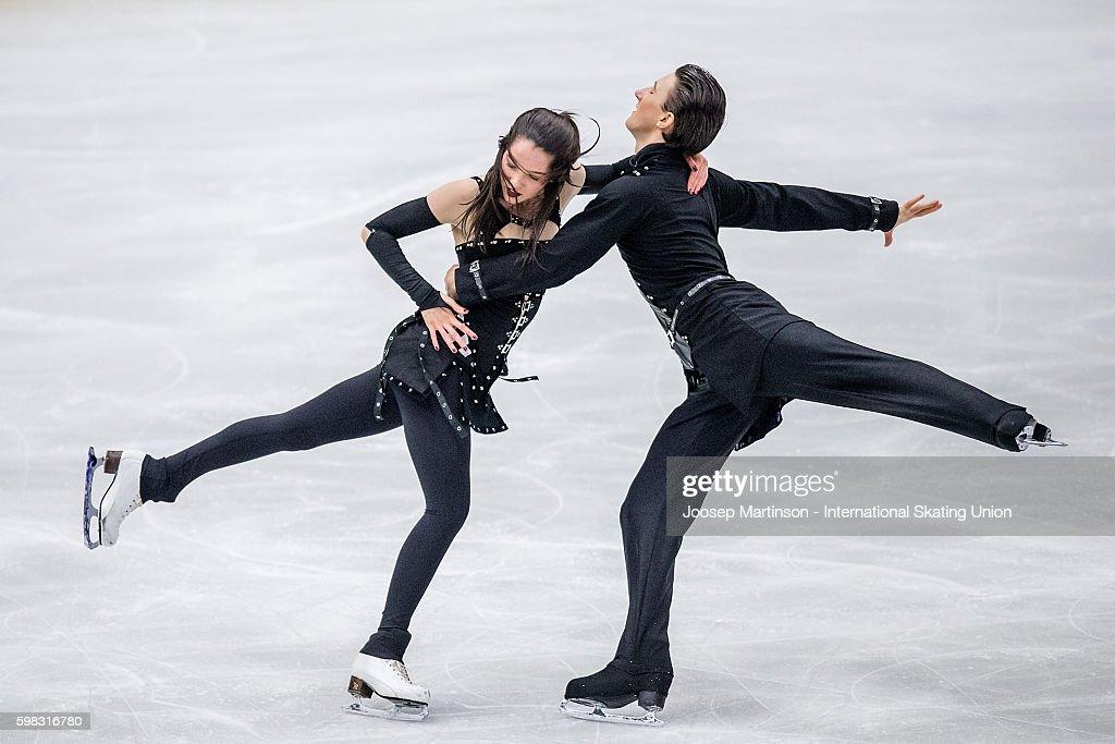 ISU Junior Grand Prix of Figure Skating - Ostrava Day 1 : News Photo