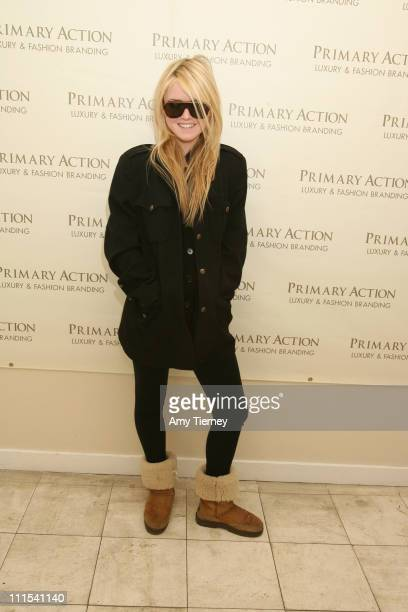 Lorraine Nicholson during Primary Action 2007 Golden Globe Suites Day 3 at Private Residence in Los Angeles California United States