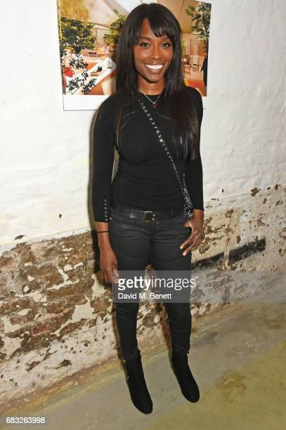 Lorraine Pascale attends a discussion between Lord Richard Rogers and Rohan Silva at Second Home Holland Park on May 11, 2017 in London, England.