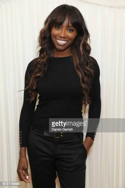 Lorraine Pascale attends the 'Be Cool, Be nice' book launch at House of Lords on November 13, 2017 in London, England.