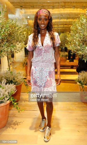 Lorraine Pascale attends the celebration for the opening of the Goop London pop-up, hosted by Elise Loehnen and Jasmine Hemsley on September 26, 2018...