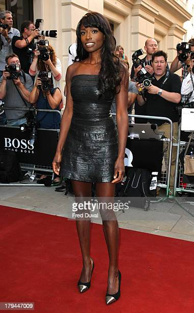 Lorraine Pascale attends the GQ Men of the Year awards at The Royal Opera House on September 3 2013 in London England