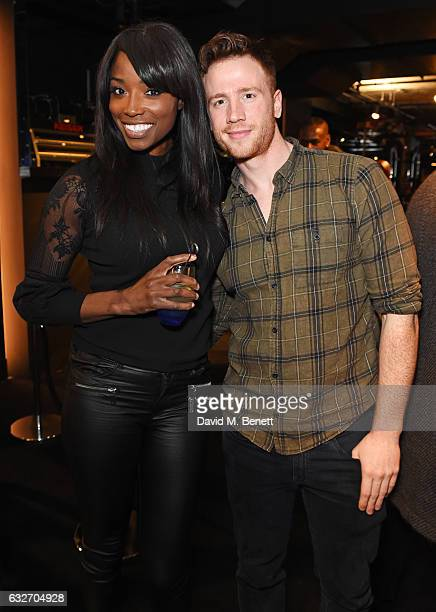 Lorraine Pascale attends the launch of the BXR London Gym on January 25 2017 in London England