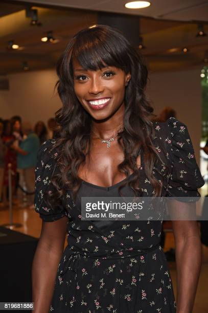 Lorraine Pascale attends the press night performance of Tanguera at Sadler's Wells Theatre on July 20 2017 in London England