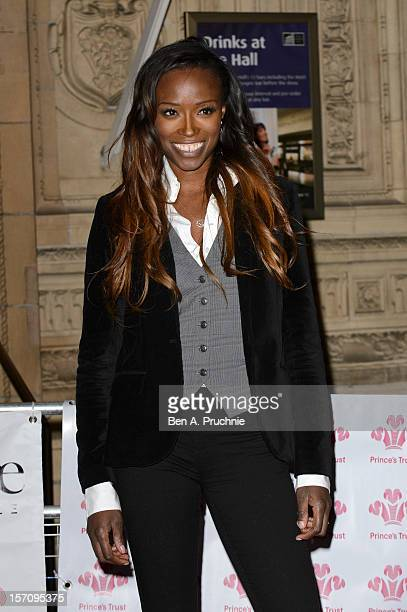 Lorraine Pascale attends the Prince's Trust Comedy Gala at Royal Albert Hall on November 28 2012 in London England