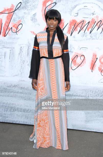 Lorraine Pascale attends The Serpentine Summer Party at The Serpentine Gallery on June 19 2018 in London England