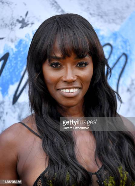 Lorraine Pascale attends The Summer Party 2019, Presented By Serpentine Galleries And Chanel, at The Serpentine Gallery on June 25, 2019 in London,...