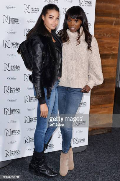 Lorraine Pascale during the launch of the Natural History Museum Ice Rink on October 25, 2017 in London, England.