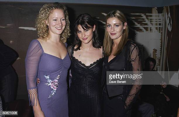 Lorraine Pilkington Emma Catherwood and Louise Lombard attend the UK Premiere of My Kingdom at The Odeon Cinema on September 23 2002 in London