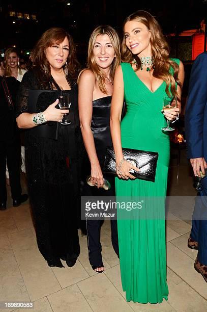 Lorraine Schwartz Nina Garcia and Sofia Vergara attend 2013 CFDA Fashion Awards at Alice Tully Hall on June 3 2013 in New York City