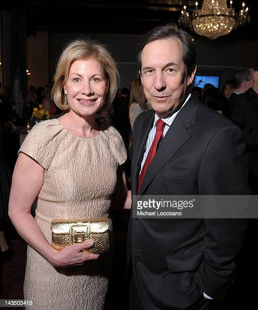 Lorraine Smothers and Chris Wallace of Fox News attend the PEOPLE/TIME Party on the eve of the White House Correspondents' Dinner on April 27 2012 in...
