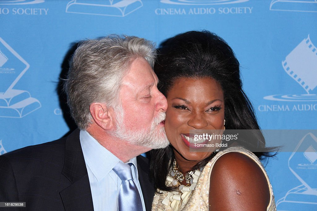 Lorraine Toussaint (R) and guest attend the 49th annual Cinema Audio Society Awards held at Millennium Biltmore Hotel on February 16, 2013 in Los Angeles, California.