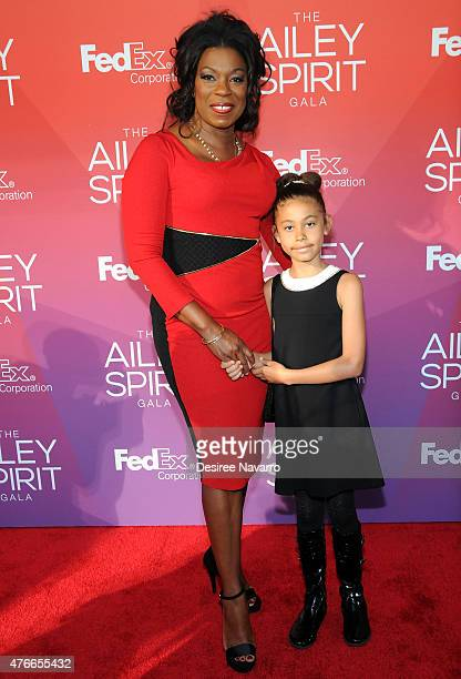 Lorraine Toussaint and Samara Grace attend the 2015 Ailey Spirit Gala at David H Koch Theater Lincoln Center on June 10 2015 in New York City