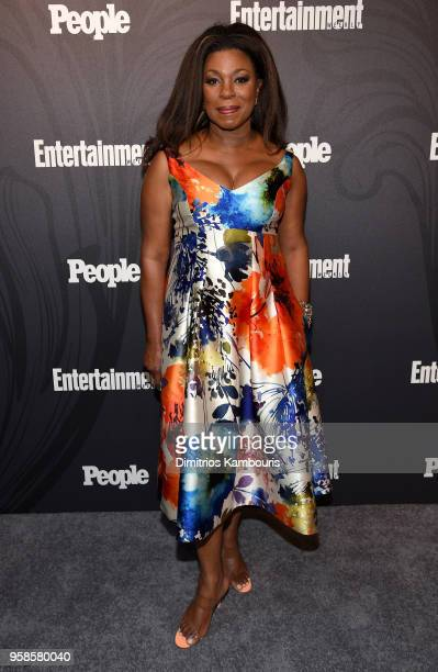 Lorraine Toussaint of Orange is The New Black attends Entertainment Weekly PEOPLE New York Upfronts celebration at The Bowery Hotel on May 14 2018 in...