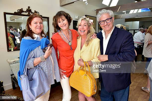 Lorraine Vidal Lee Fryd Cindy Lou Wakefield and Rick Friedman attend Animal Rescue Fund of the Hamptons 6th Annual Thrift Shop Designer Showhouse at...