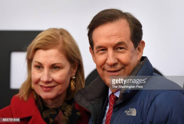 Lorraine Wallace and husband Fox News anchor Chris Wallace attended the premiere tonight for the movie 'The Post' The world premiere of the movie...