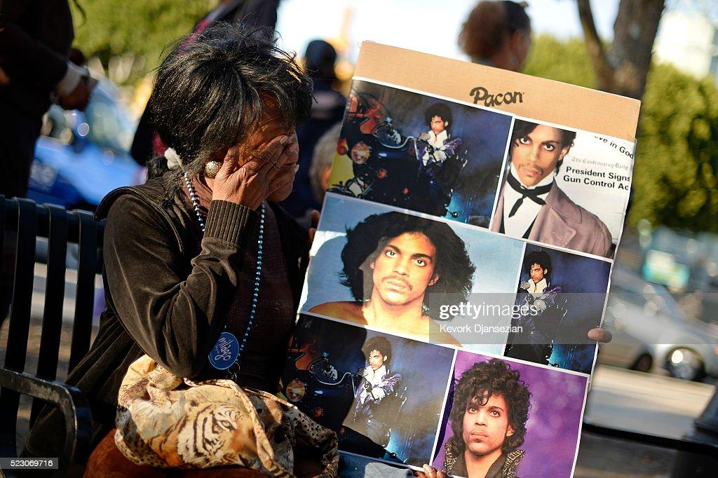 Rock Legend Prince Dies At Age 57 : News Photo