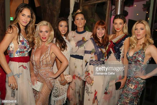 Lorrayne Mathias Ludmila DayerEmilia Pedersen Teen Ambassador from Love Together Brasil Fabiana MilazzoMichelli Buback and Katheryn Winnick attend...