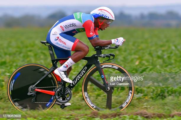Lorrenzo Manzin of France and Team Total Direct Energie / during the 16th BinckBank Tour 2020, Stage 4 a 8,14km Individual Time Trial from Riemst to...