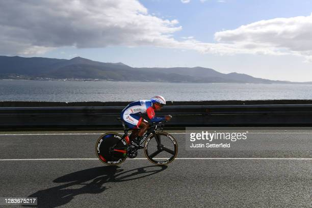 Lorrenzo Manzin of France and Team Total Direct Energie / during the 75th Tour of Spain 2020, Stage 13 a 33,7km Individual Time Trial stage from...