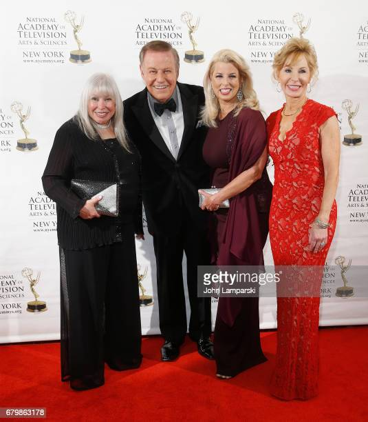 Lorri Scott Marvin Scott Rita Cosby and Sarah Wallace attend 60th Anniversary New York Emmy Awards Gala at Marriott Marquis Times Square on May 6...