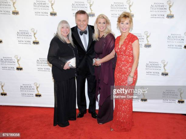 Lorri Scott Marvin Scott Rita Cosby and Sarah Wallace attend the 60th Anniversary New York Emmy Awards Gala at Marriott Marquis Times Square on May 6...
