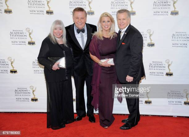 Lorri Scott Marvin Scott Rita Cosby and Tomaczek Bednarek attend the 60th Anniversary New York Emmy Awards Gala at Marriott Marquis Times Square on...