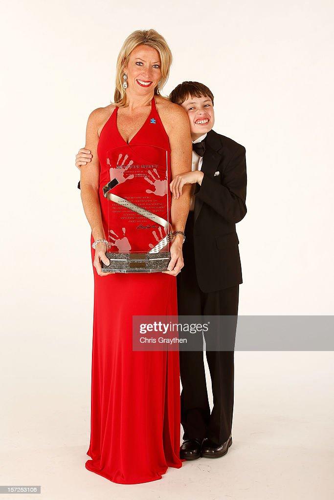 Lorri Shealy Unumb and her Son Ryan of Lexington, SC pose