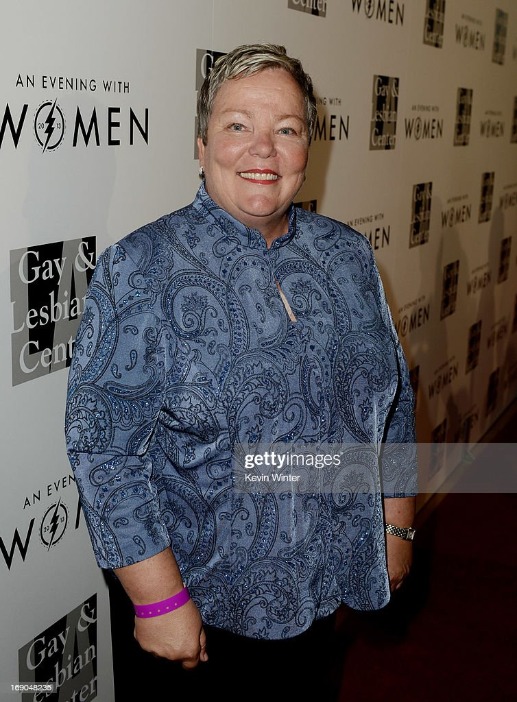 Lorrie Jean, CEO, L.A. Gay & Lesbian Center arrives at An Evening With Women benefiting The L.A. Gay & Lesbian Center at the Beverly Hilton Hotel on May 18, 2013 in Beverly Hills, California.