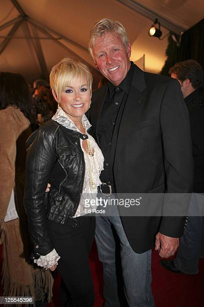 Lorrie Morgan and Randy White attends Tootsie's Orchid Lounge 50th Anniversary Celebration at Ryman Auditorium on November 7 2010 in Nashville...