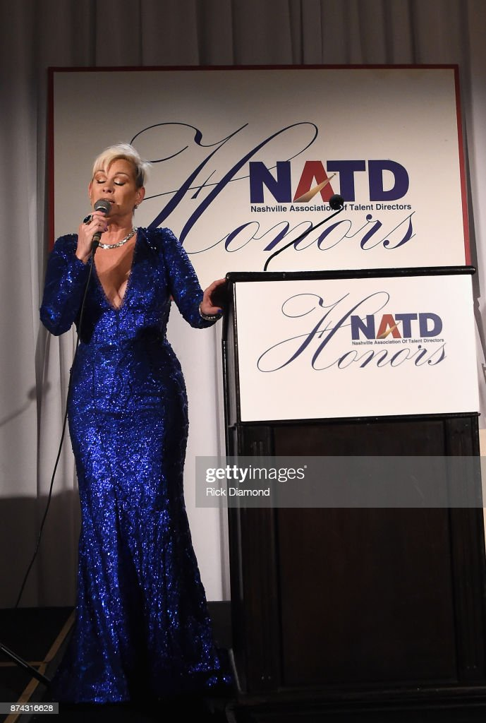 Lorrie Morgan performs onstage during the 2017 NATD Honors Gala at Hermitage Hotel on November 14, 2017 in Nashville, Tennessee.