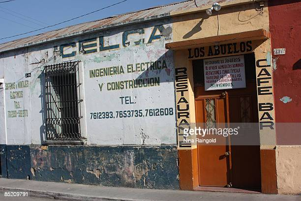 Los Abuelos restaurant and cafe bar on December 12 2008 in Quetzaltenango Guatemala Quetzaltenango is Guatemalas second largest city and is...