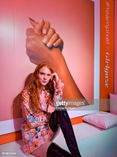 'Los Angela' attends the #TEAMPIXEL x GIRLGAZE launch event hosted by Google and Amanda De Cadenet on November 15 2017 in Los Angeles California