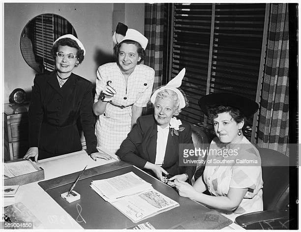 Los Angeles Advertising Women's Convention office of Helen Edwards President Elect Mary Buchanan Retiring President Doria Balli Nathalie Sode Los...