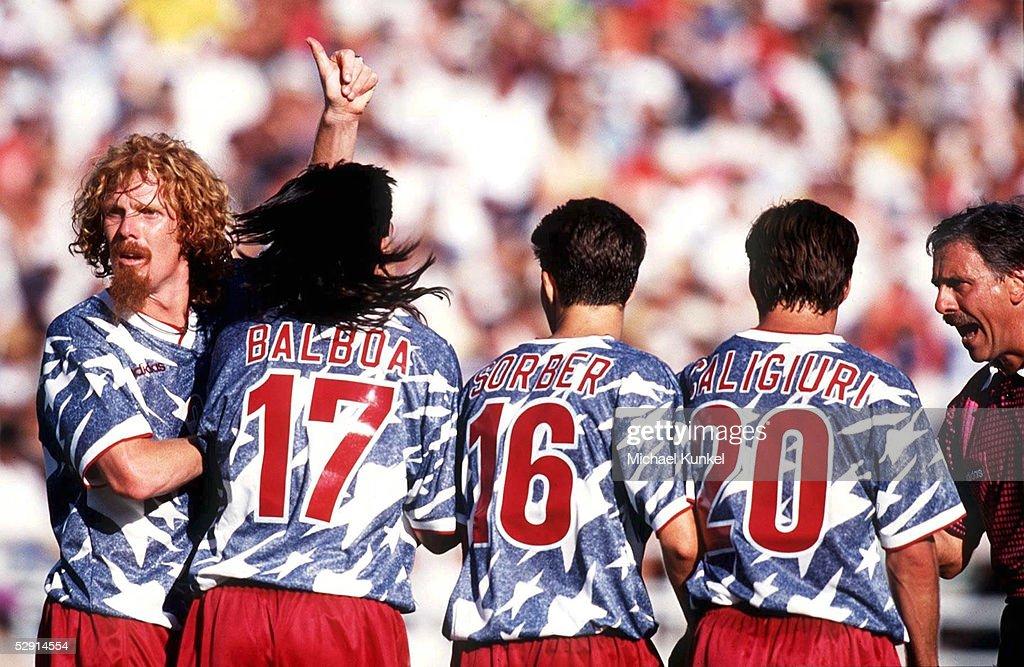 FUSSBALL: WM 1994 in USA, 22.06.94 USA : News Photo