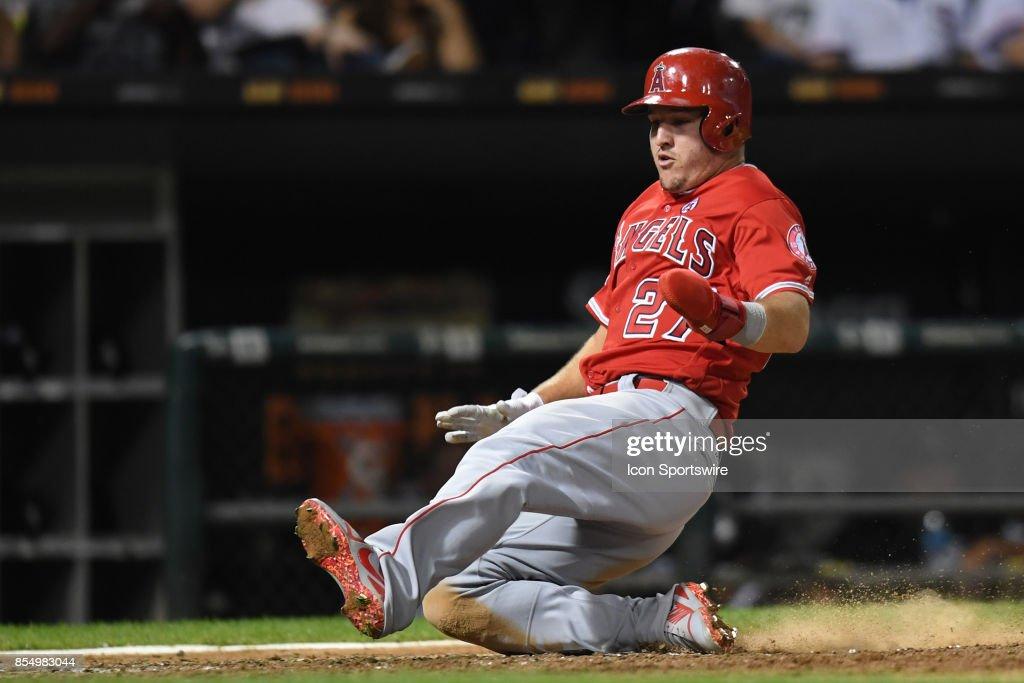 MLB: SEP 26 Angels at White Sox : News Photo