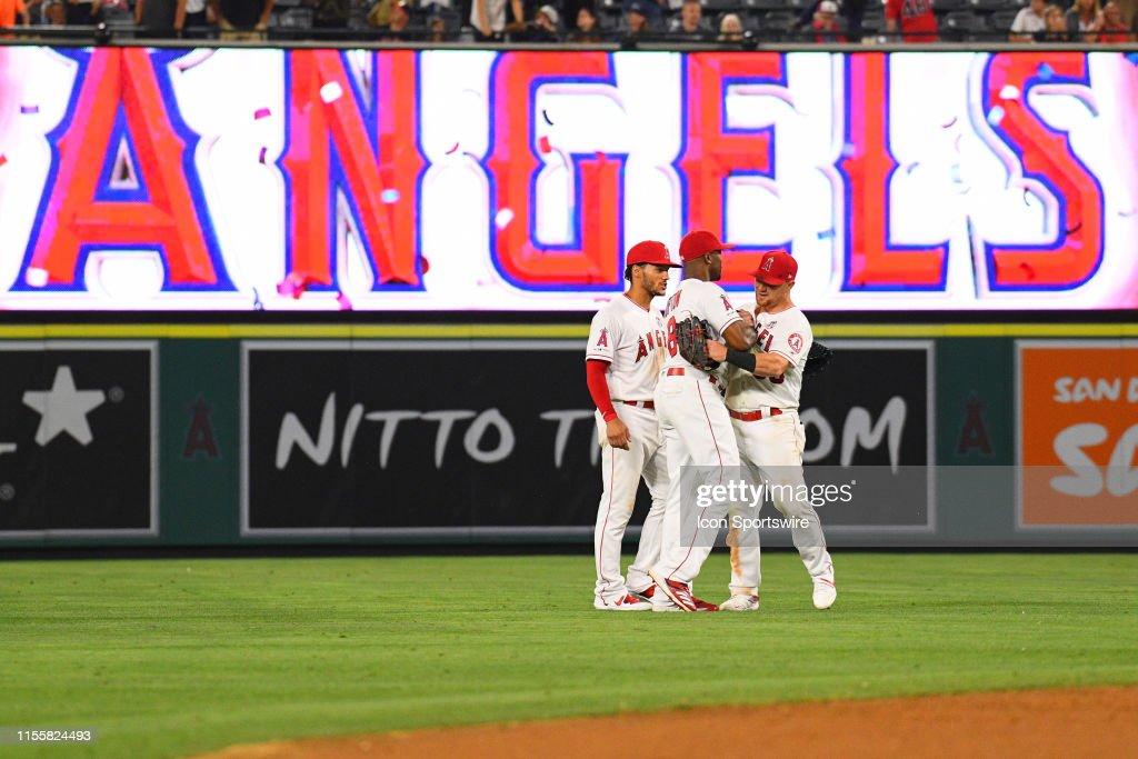 MLB: JUL 15 Astros at Angels : News Photo